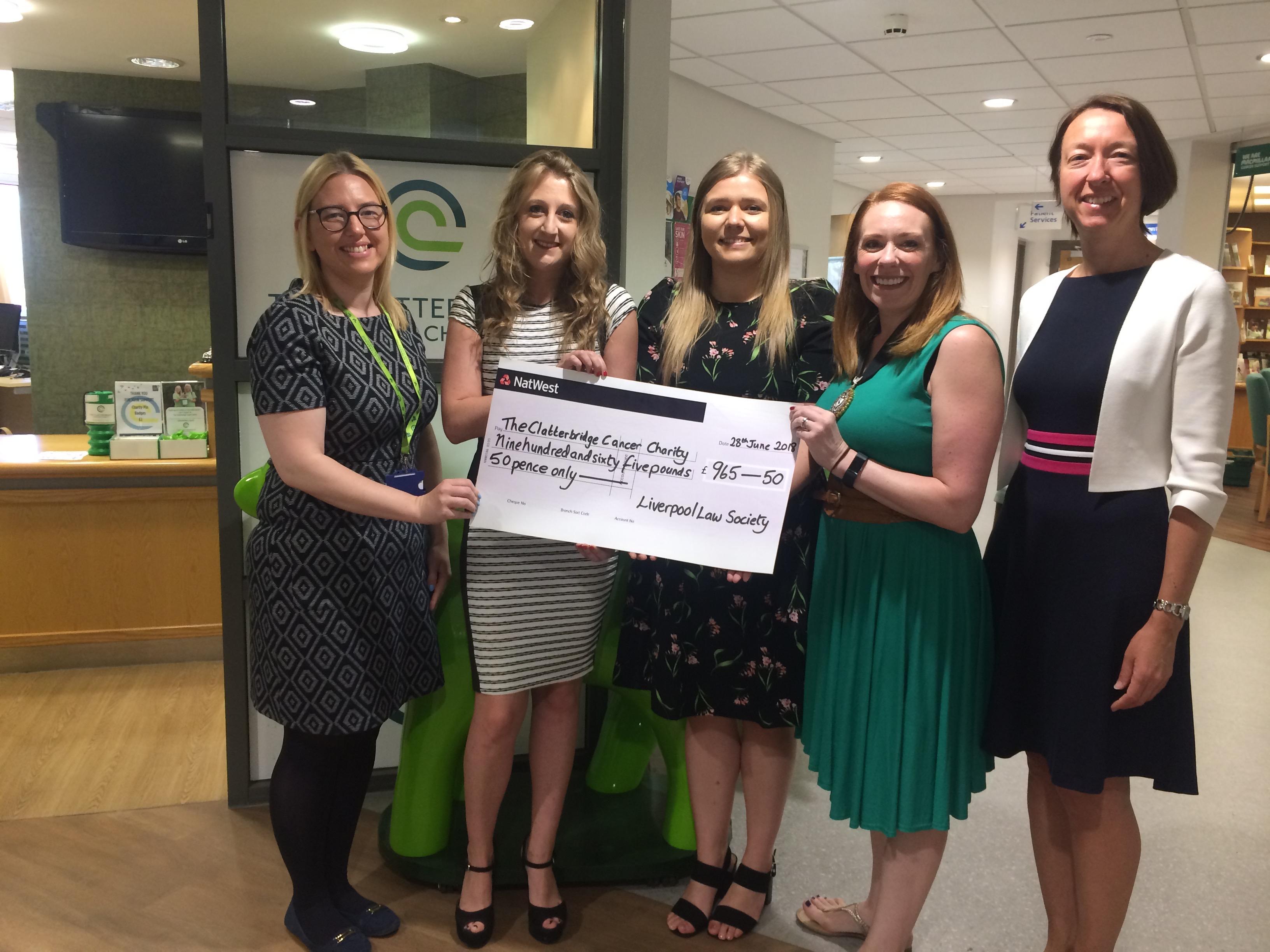 Clatterbridge cheque