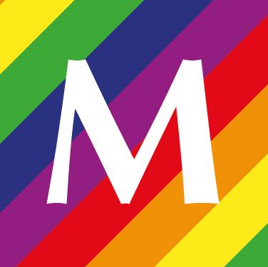 Pride logo social media